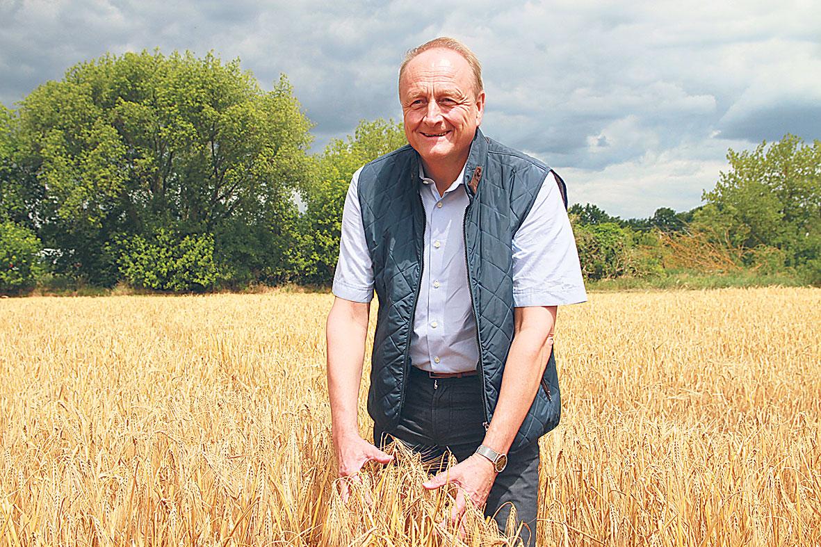 Porträt: Joachim Rukwied, Präsident des Deutschen Bauernverbandes e.V.
