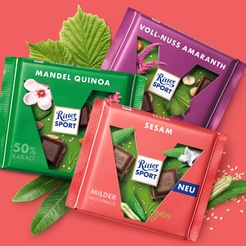 Produktporträt: Ritter Sport Vegane Schokolade